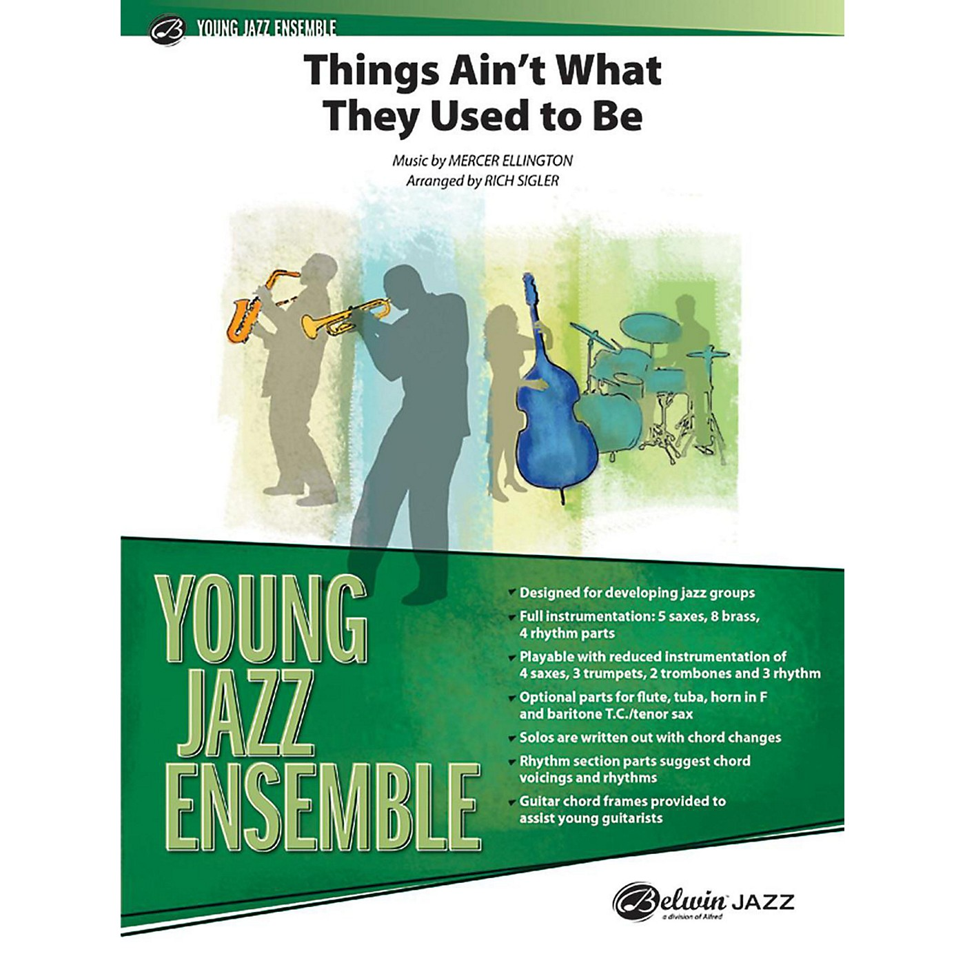 Alfred Things Ain't What They Used to Be - Jazz Band Grade 2 Set thumbnail