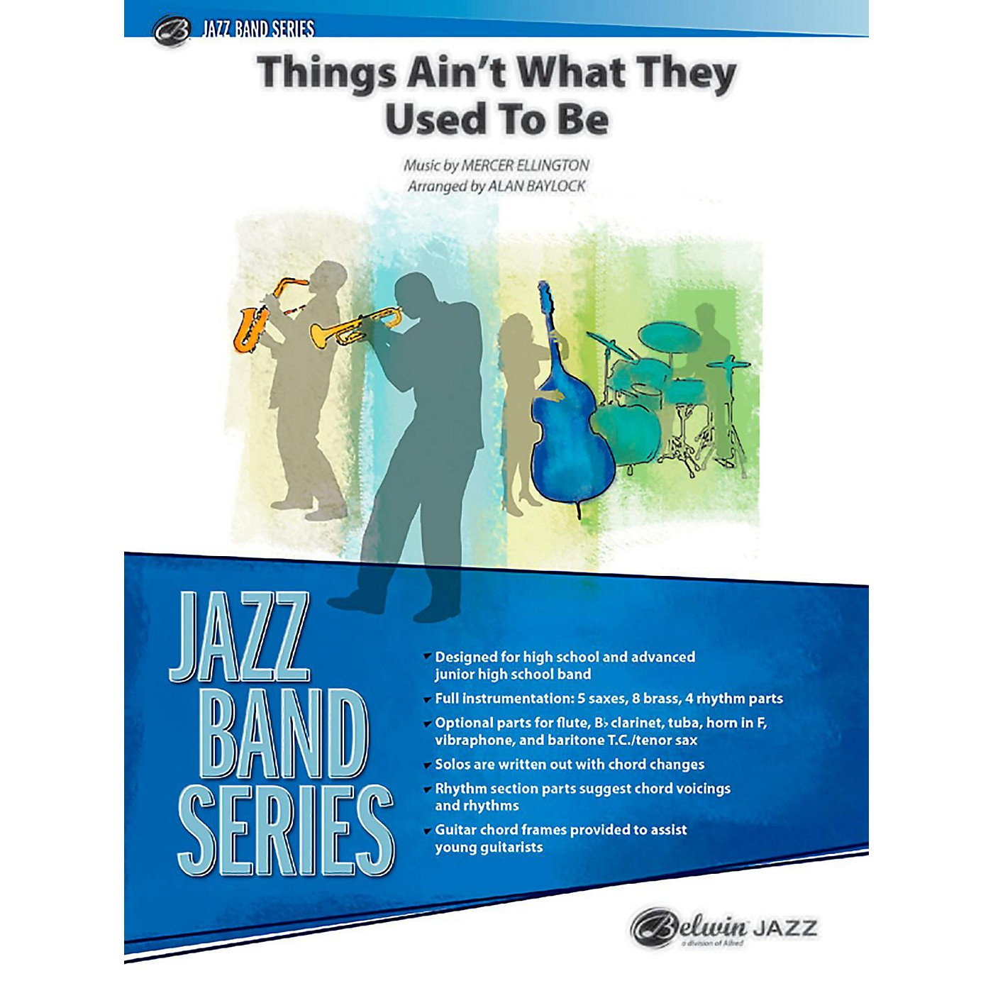 BELWIN Things Ain't What They Used to Be Jazz Ensemble Grade 3 (Medium) thumbnail