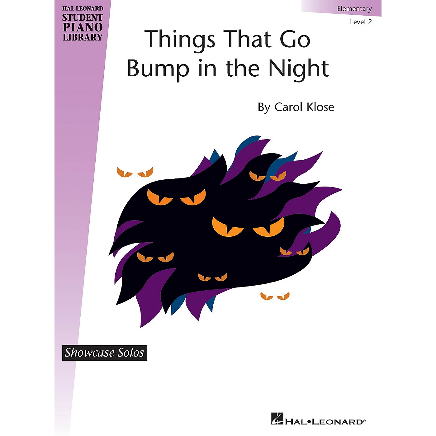 Hal Leonard Things That Go Bump in the Night Piano Library Series by Carol Klose (Level Elem) thumbnail