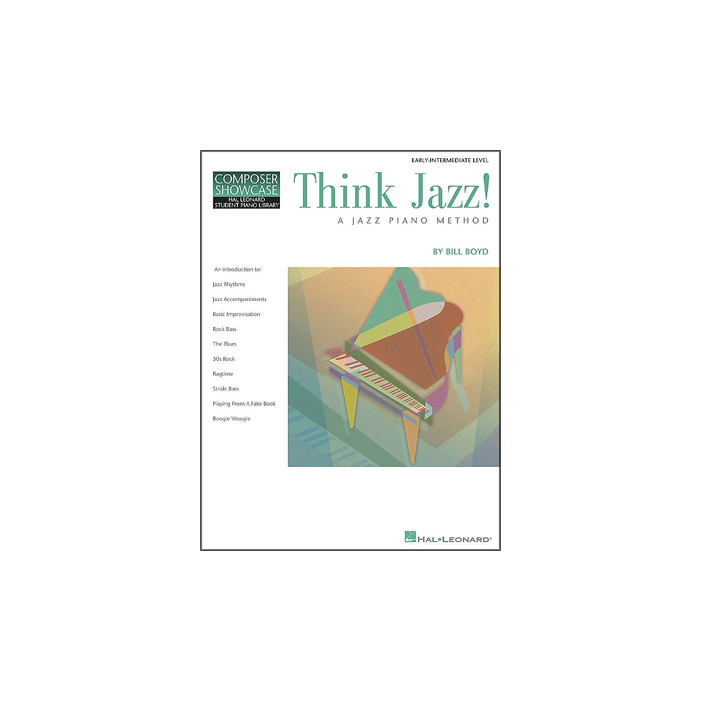 Hal Leonard Think Jazz Book 1 by Bill Boyd thumbnail