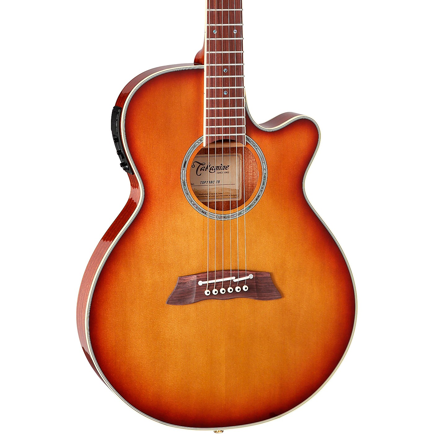 Takamine Thinline TSP138C Acoustic-Electric Guitar thumbnail