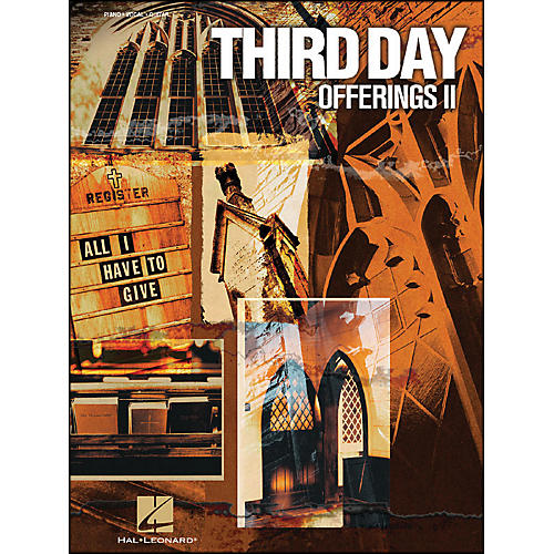 Hal Leonard Third Day Offerings Ii All I Have To Give arranged for piano, vocal, and guitar (P/V/G) thumbnail