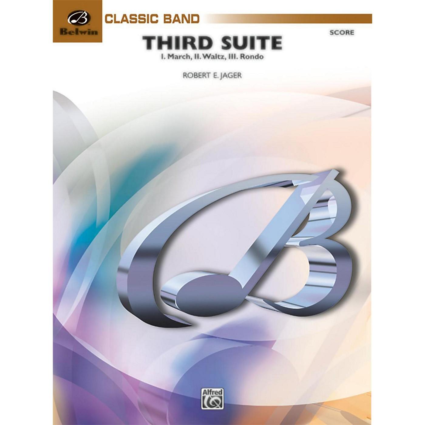 BELWIN Third Suite (I. March, II. Waltz, III. Rondo) Grade 3.5 (Medium Easy to Medium) thumbnail