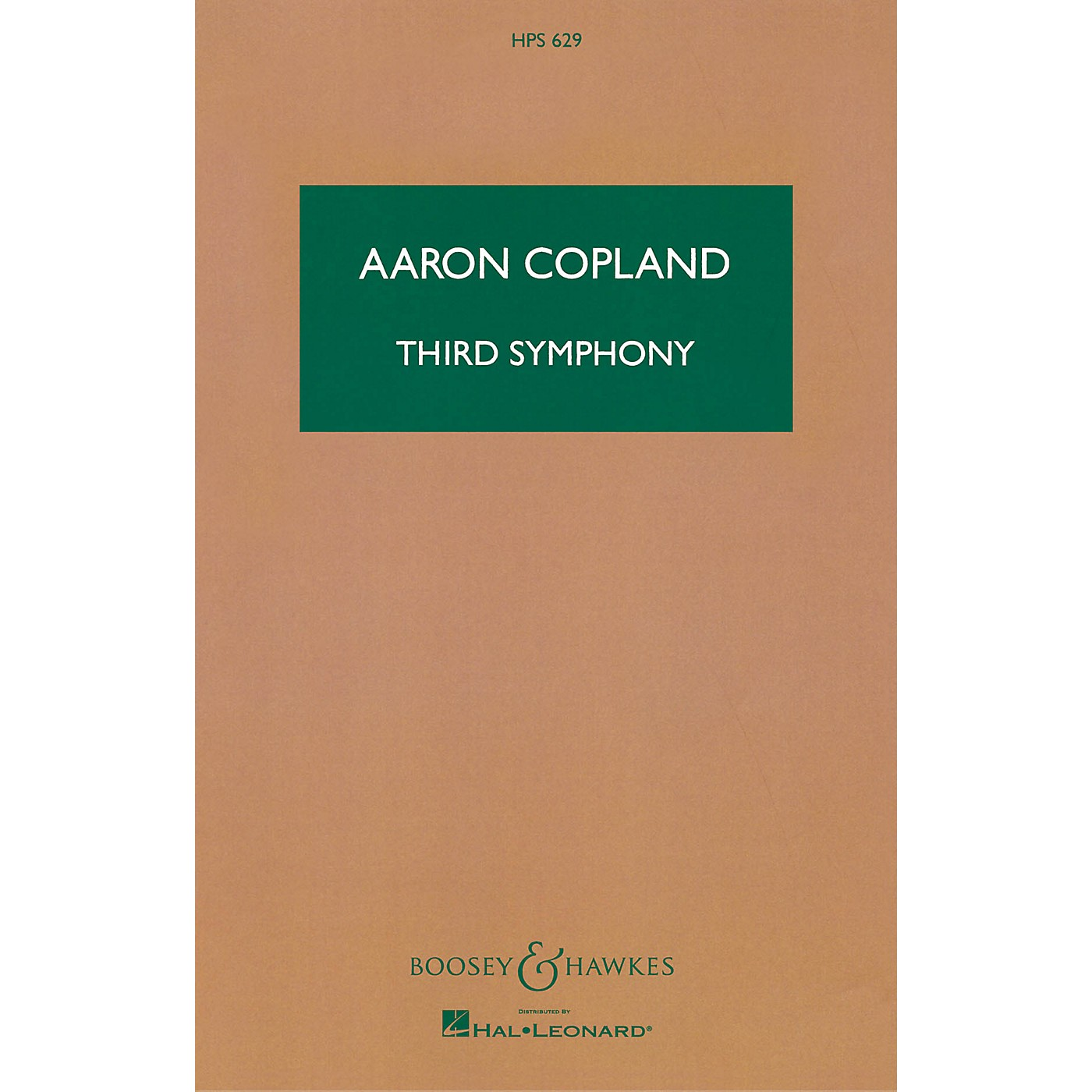 Boosey and Hawkes Third Symphony Boosey & Hawkes Scores/Books Series Composed by Aaron Copland thumbnail