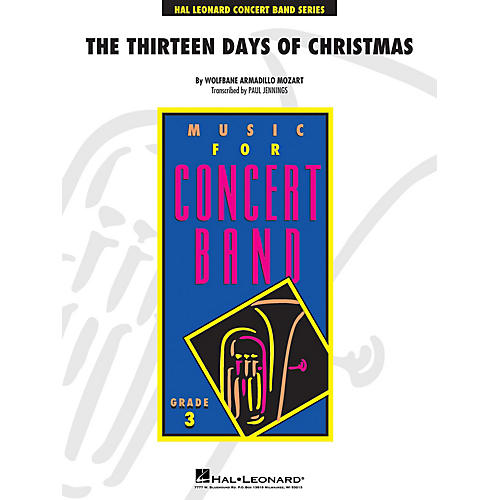 Hal Leonard Thirteen Days Of Christmas - Young Concert Band Level 3 arranged by Paul Jennings thumbnail