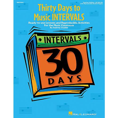Hal Leonard Thirty Days to Music Intervals thumbnail