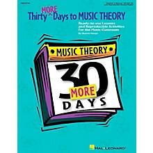 Hal Leonard Thirty More Days To Music Theory Teachers Manual