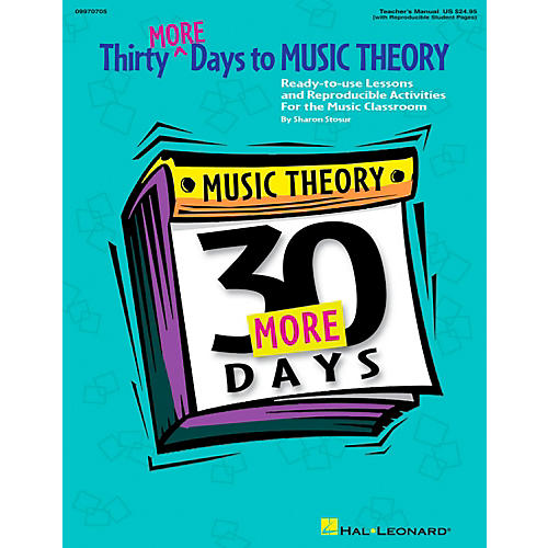 Hal Leonard Thirty More Days To Music Theory Teachers Manual thumbnail