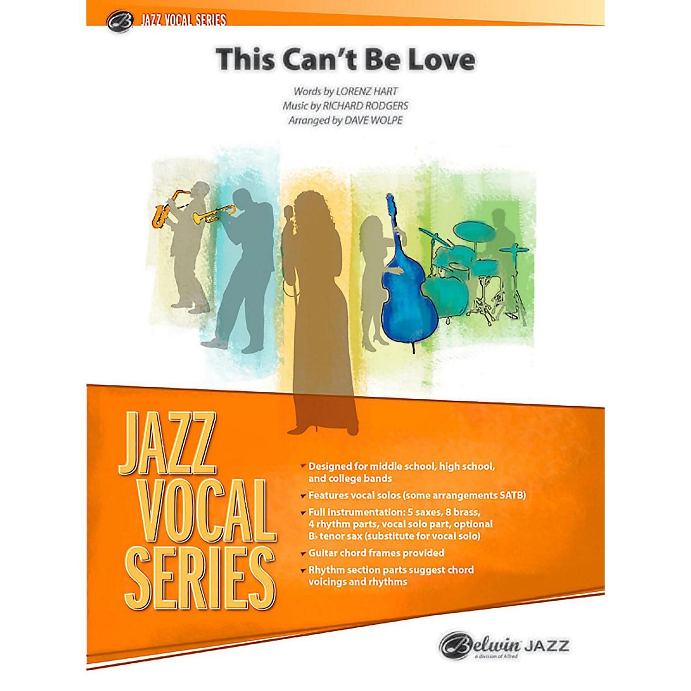BELWIN This Can't Be Love Jazz Ensemble Grade 3.5 (Medium) thumbnail