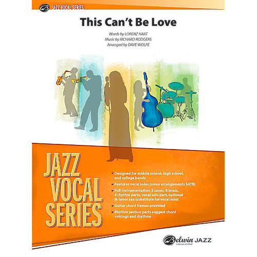 BELWIN This Can't Be Love Jazz Ensemble Grade 3.5 (Medium) thumbnail