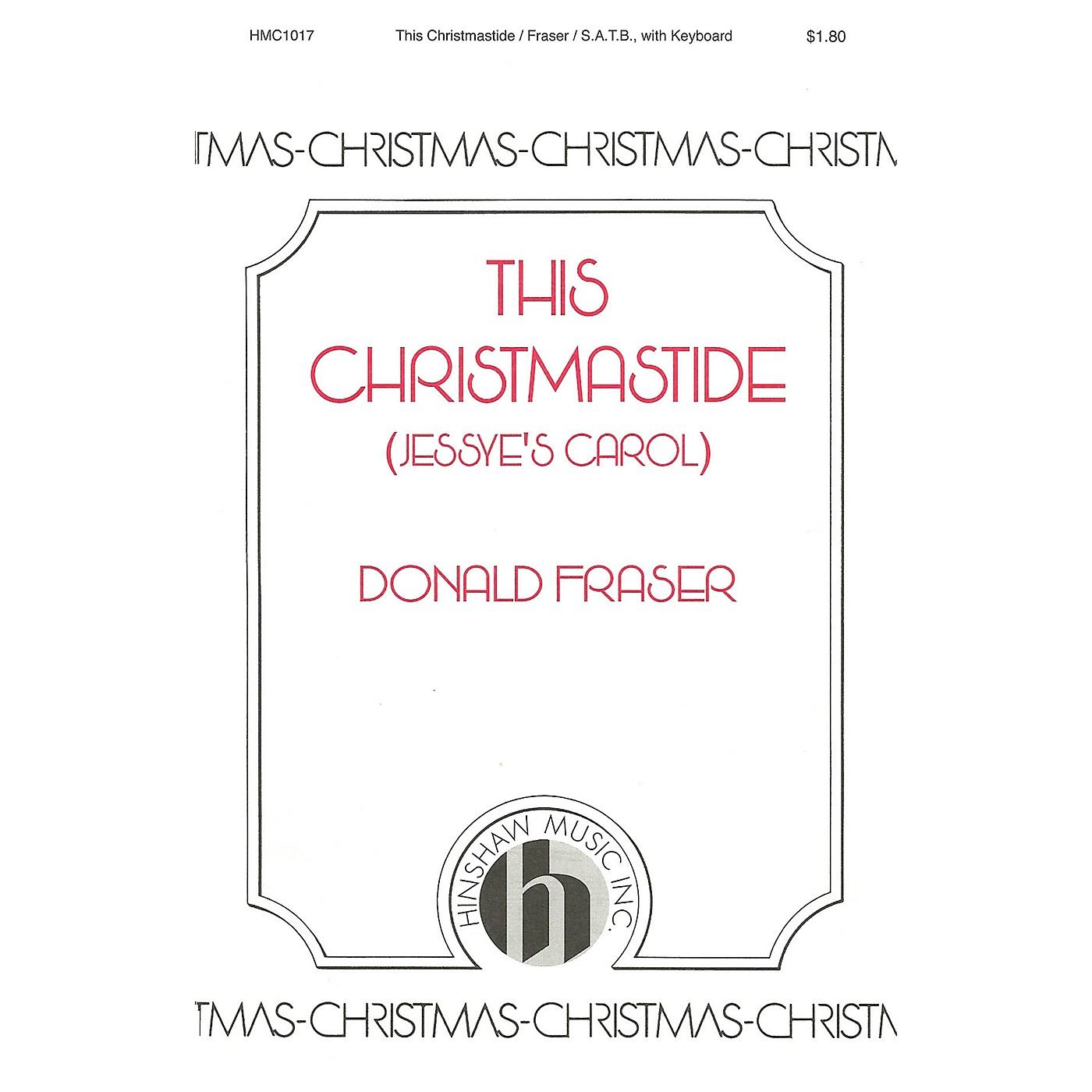 Hinshaw Music This Christmastide (Jessye's Carol) SATB composed by Donald Fraser thumbnail