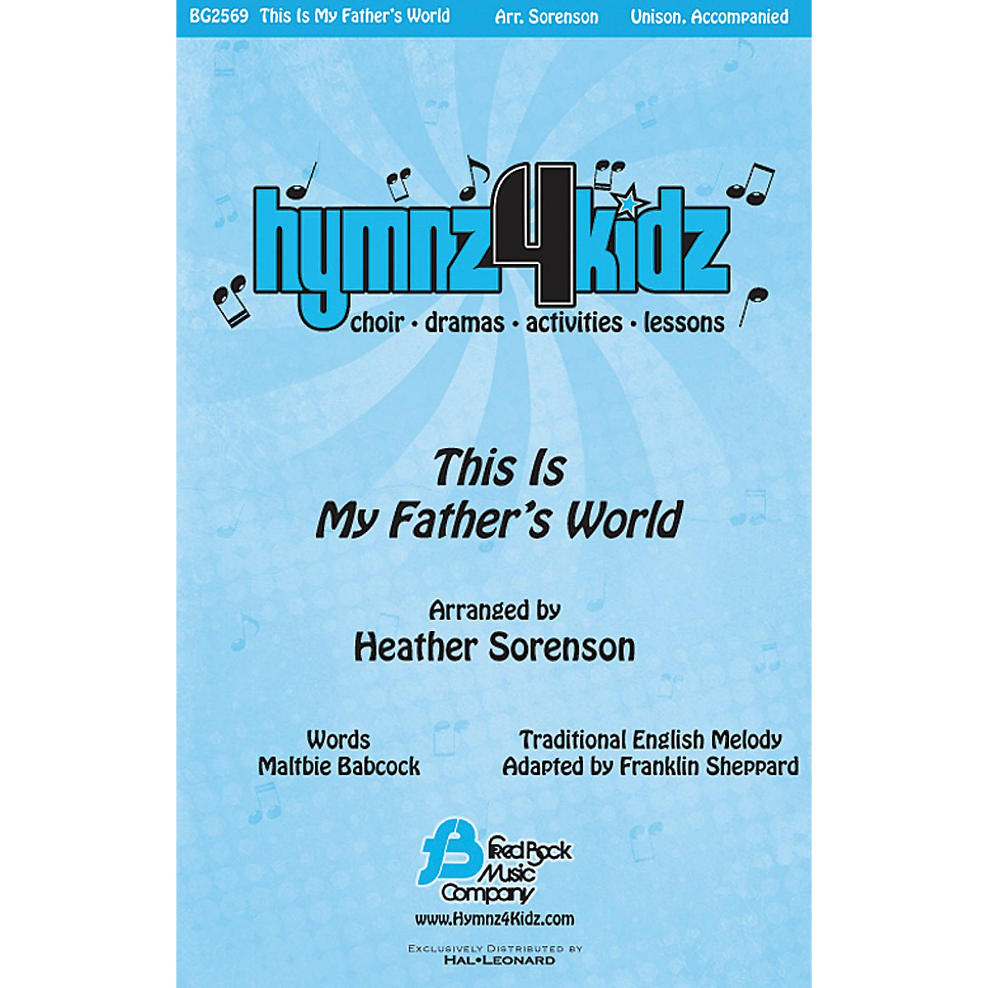 Fred Bock Music This Is My Father's World Accompaniment CD Arranged by Heather Sorenson thumbnail