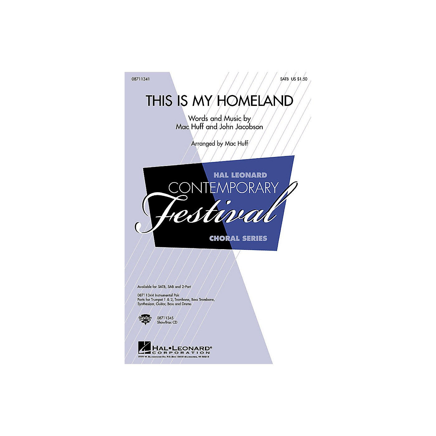 Hal Leonard This Is My Homeland IPAKB Composed by John Jacobson thumbnail
