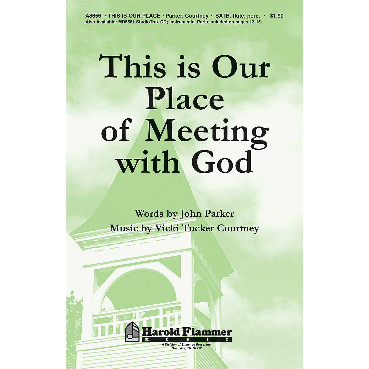 Shawnee Press This Is Our Place of Meeting with God SATB composed by John Parker thumbnail