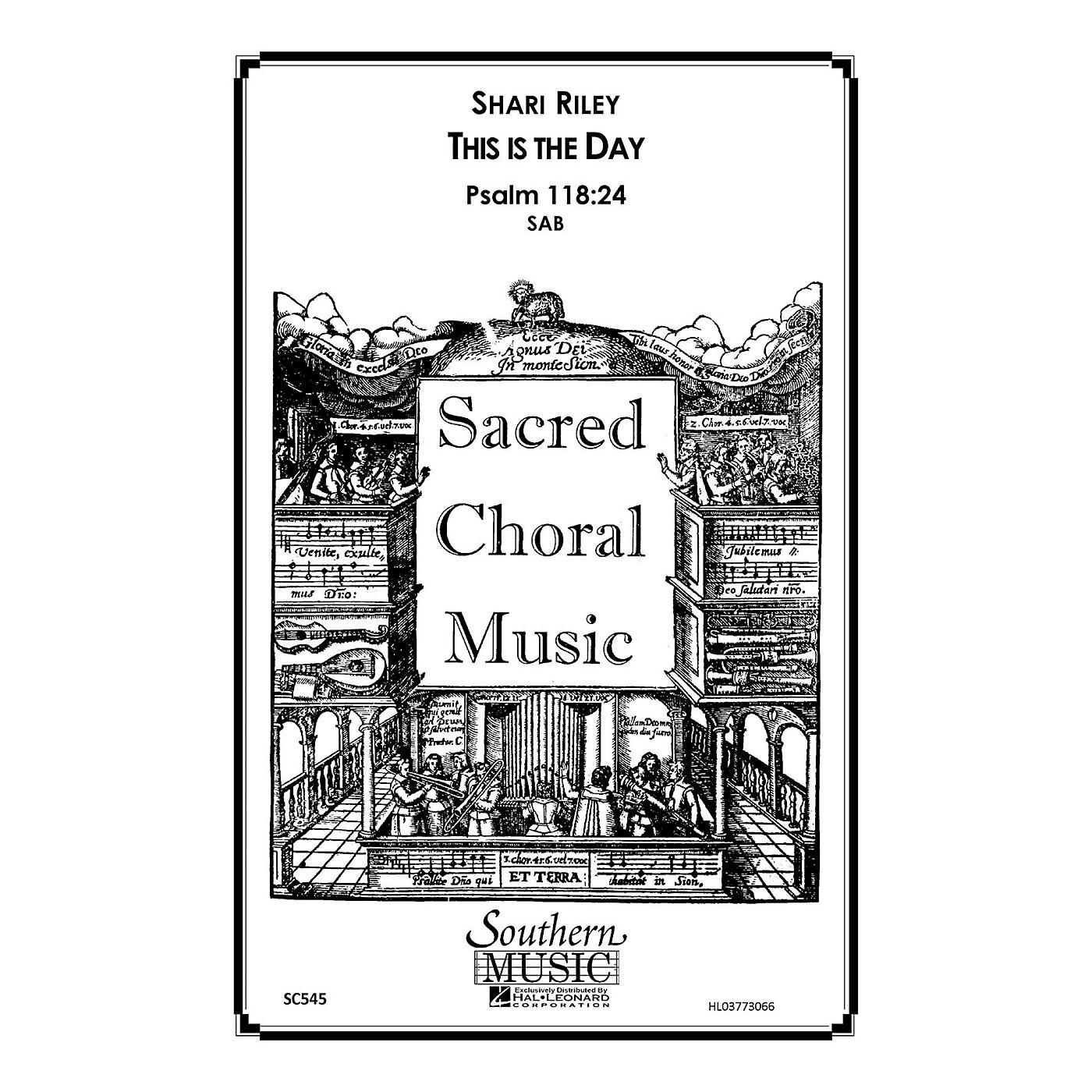 Hal Leonard This Is the Day (Choral Music/Octavo Sacred Sab) SAB Composed by Riley, Shari thumbnail