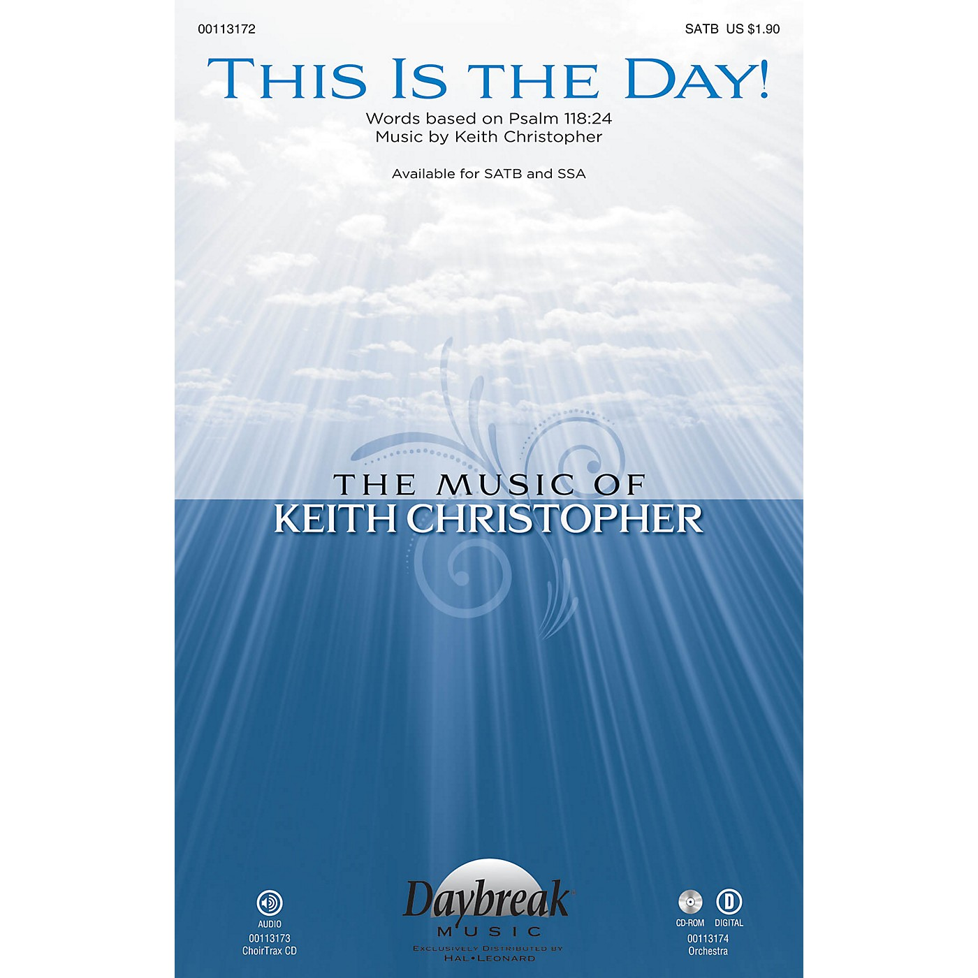 Daybreak Music This Is the Day! SATB composed by Keith Christopher thumbnail