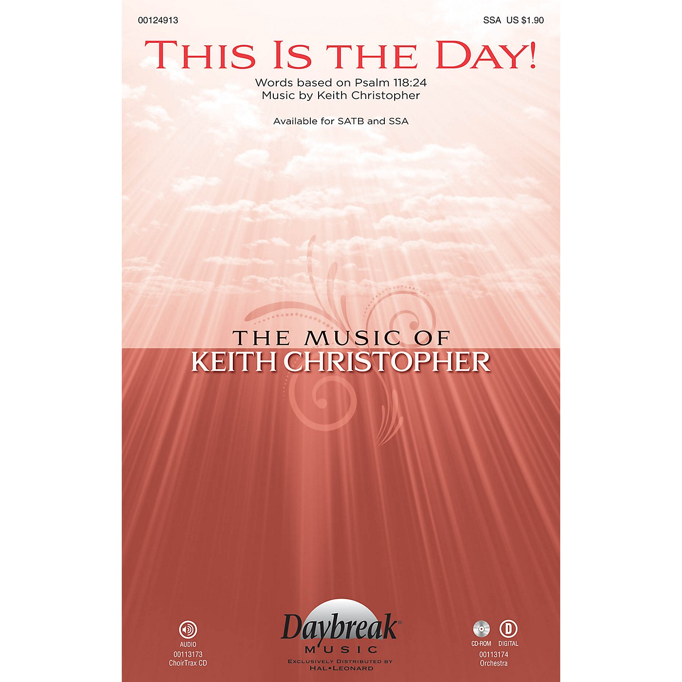 Daybreak Music This Is the Day! SSA composed by Keith Christopher thumbnail