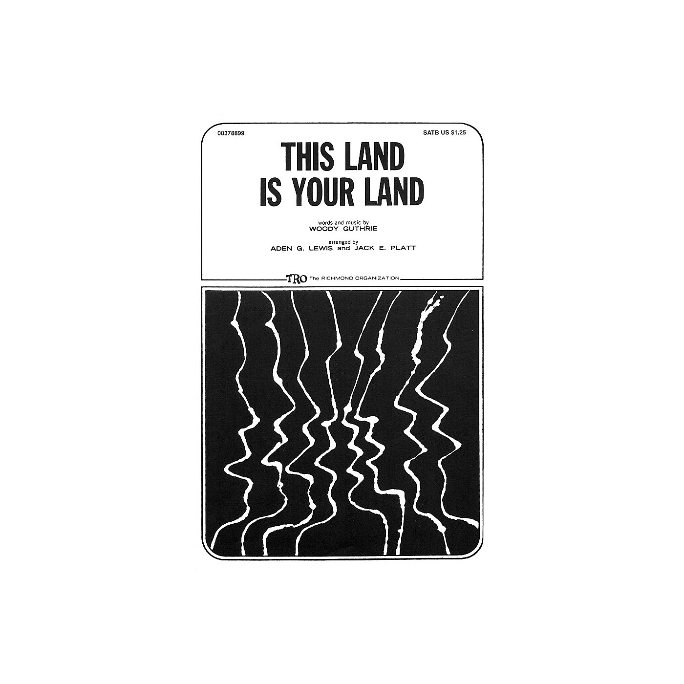 TRO ESSEX Music Group This Land Is Your Land SATB Arranged by Jack E. Platt thumbnail