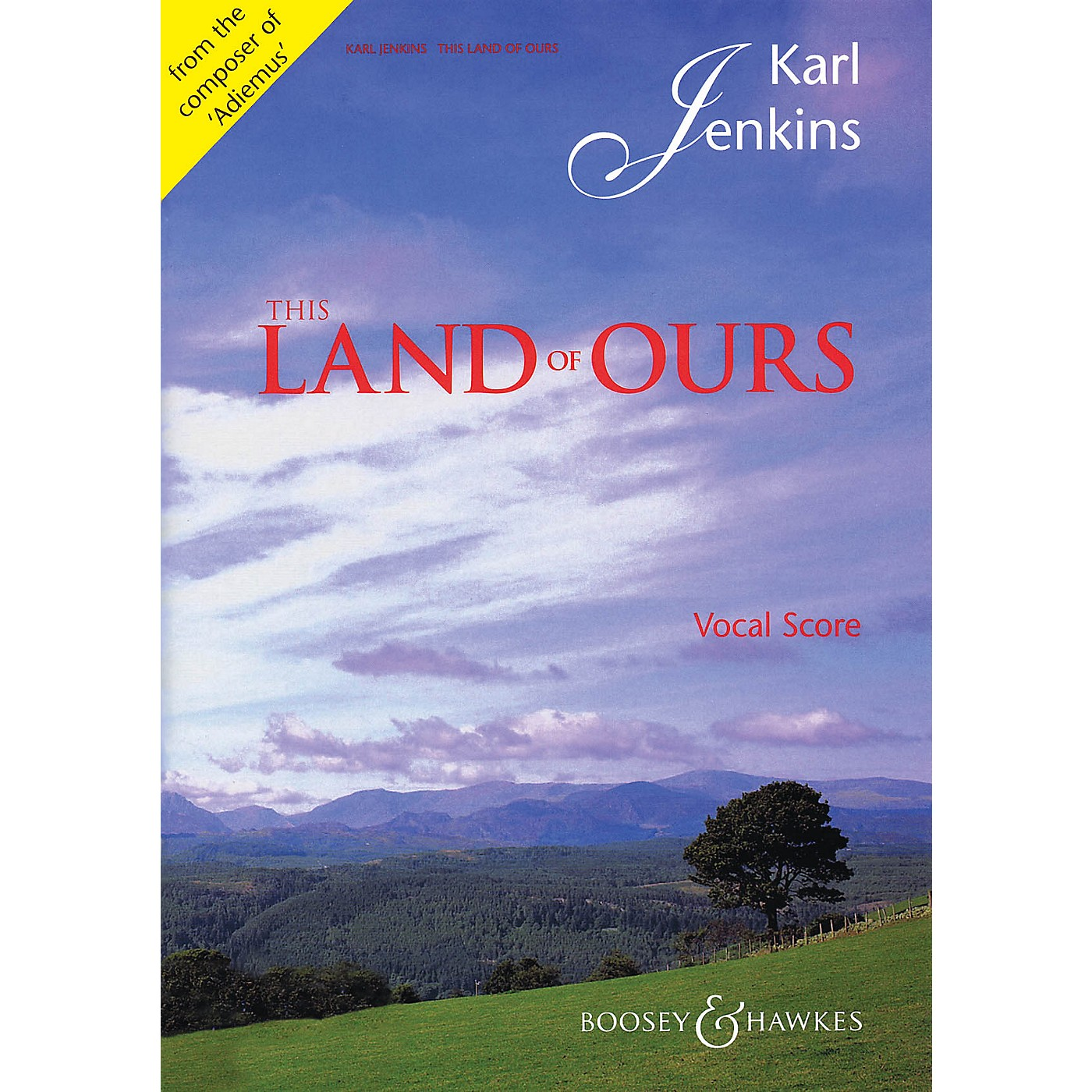 Boosey and Hawkes This Land of Ours (Vocal/Piano Score TTBB and Piano (Organ)) TTBB composed by Karl Jenkins thumbnail
