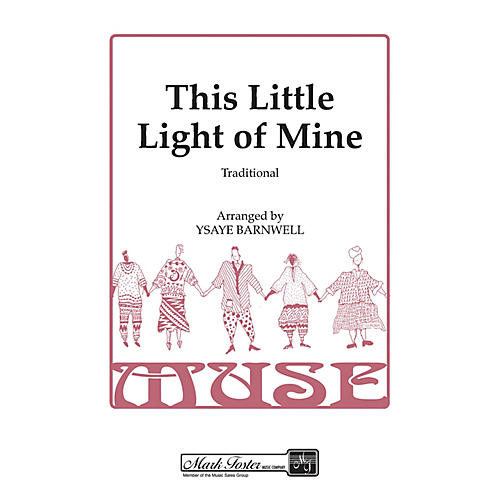 Shawnee Press This Little Light of Mine SSAA A Cappella arranged by Ysaye Barnwell thumbnail