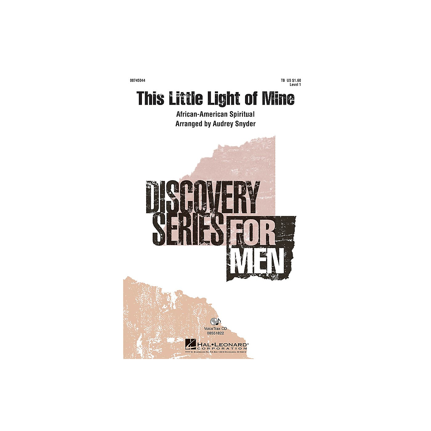 Hal Leonard This Little Light of Mine VoiceTrax CD Arranged by Audrey Snyder thumbnail