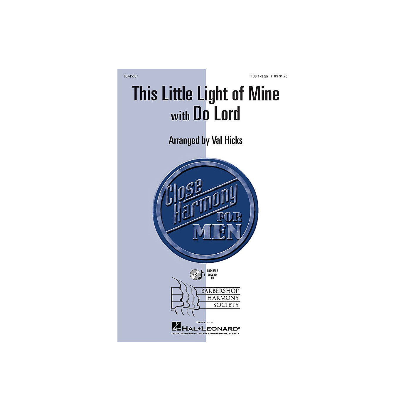 Hal Leonard This Little Light of Mine with Do Lord VoiceTrax CD Arranged by Val Hicks thumbnail