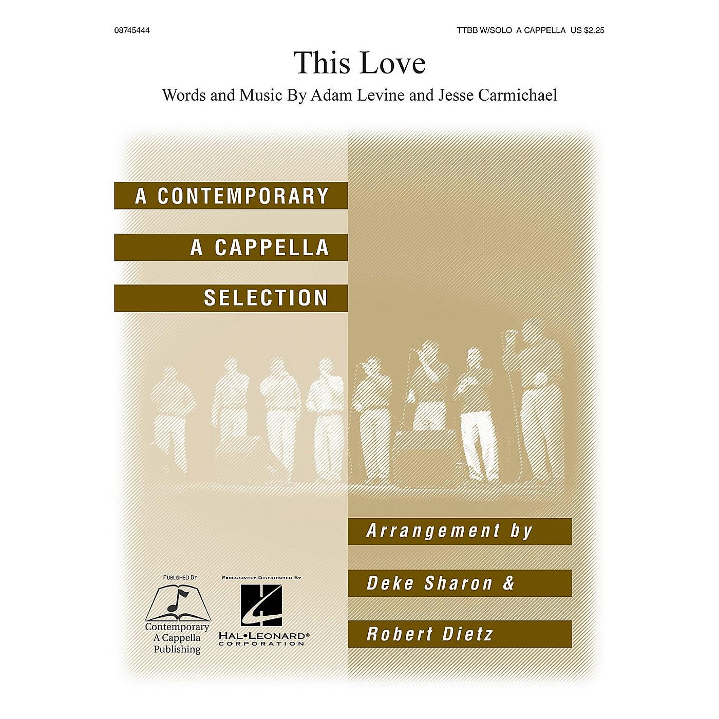 Hal Leonard This Love TTBB Div A Cappella arranged by Deke Sharon and Anne Raugh thumbnail