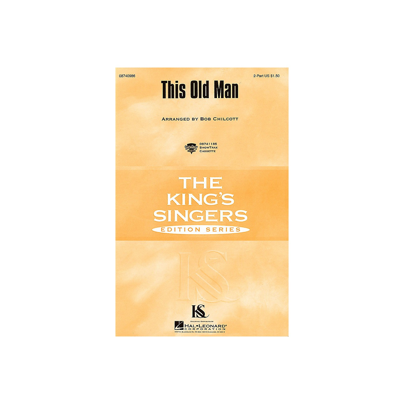 Hal Leonard This Old Man SSAA by The King's Singers Arranged by Bob Chilcott thumbnail