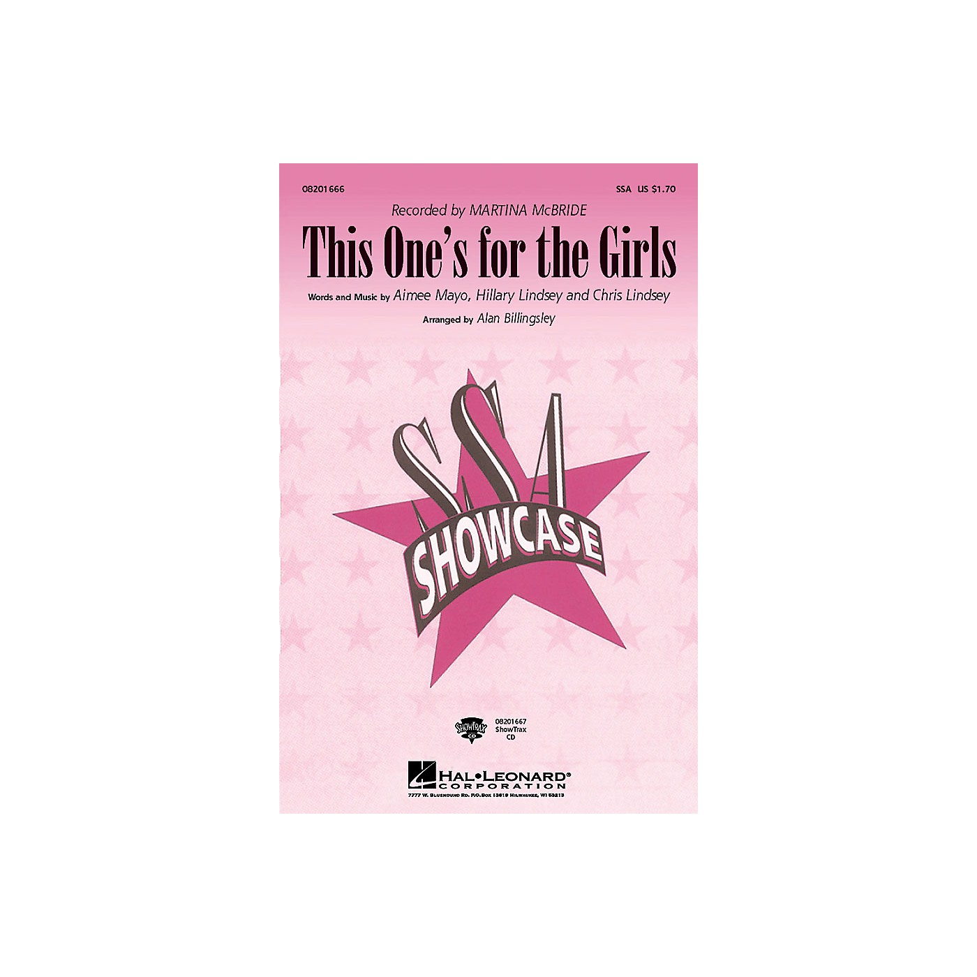 Hal Leonard This One's for the Girls ShowTrax CD Arranged by Alan Billingsley thumbnail
