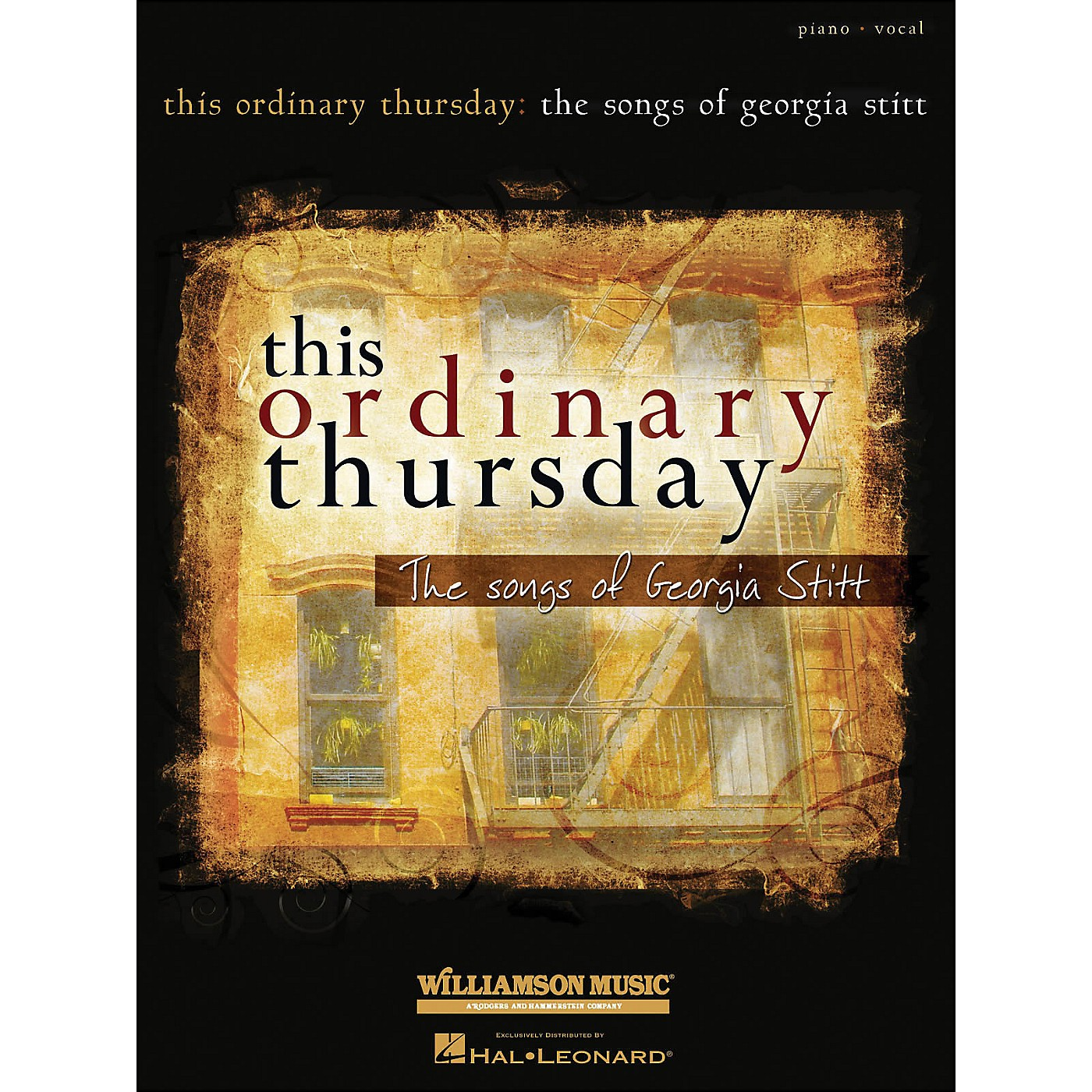 Hal Leonard This Ordinary Thursday The Songs Of Georgia Stitt arranged for piano, vocal, and guitar (P/V/G) thumbnail