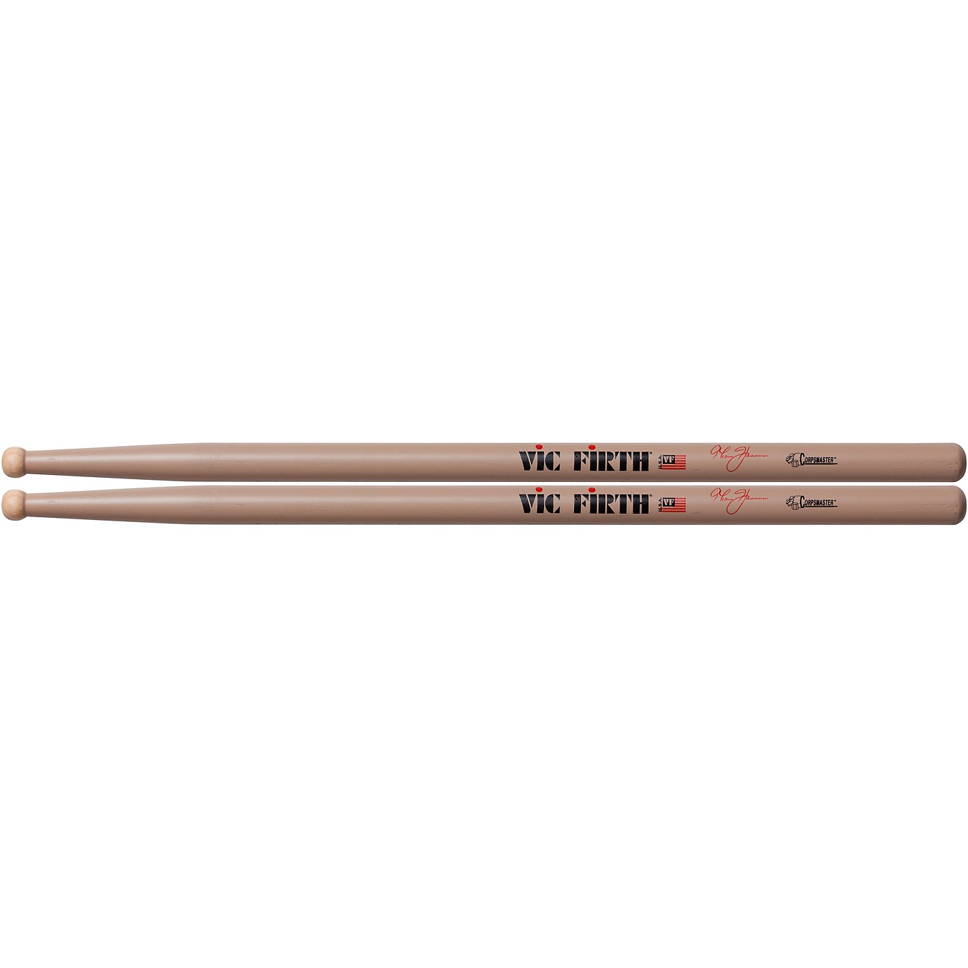 Vic Firth Thom Hannum Corpsmaster Marching Drumsticks thumbnail