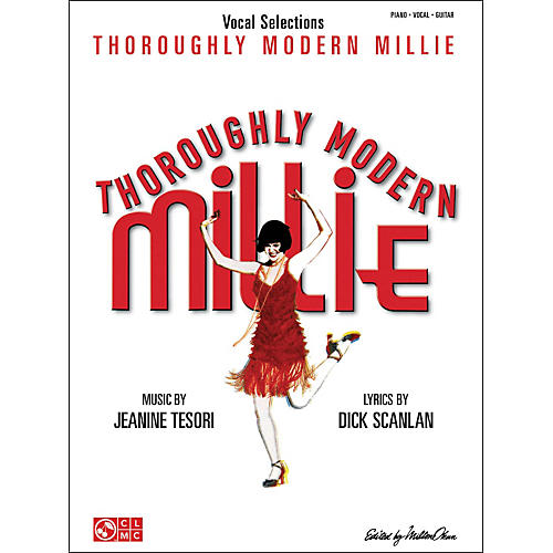 Cherry Lane Thoroughly Modern Millie Vocal Selections arranged for piano, vocal, and guitar (P/V/G) thumbnail