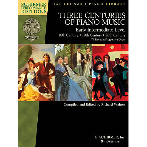 G. Schirmer Three Centuries of Piano Music: 18th, 19th & 20th Centuries Schirmer Performance Editions Softcover thumbnail