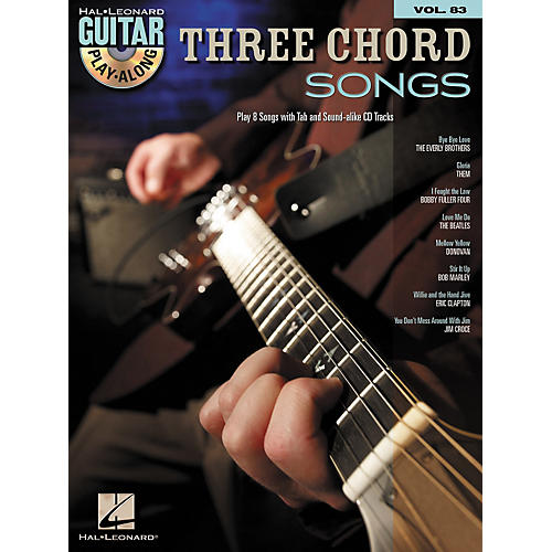 Three Chord Songs Guitar Play Along Volume 83 Bookcd Wwbw