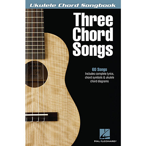 Hal Leonard Three Chord Songs Ukulele Chord Songbook-thumbnail