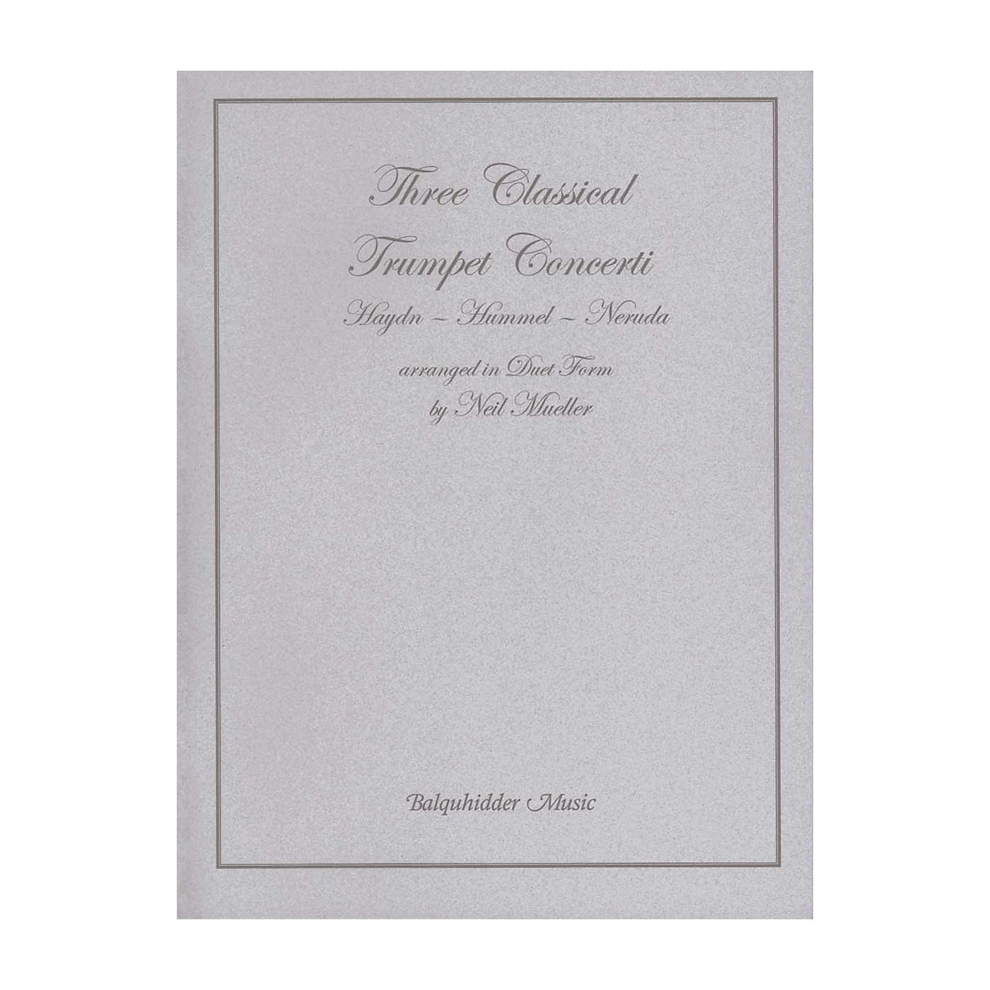 Carl Fischer Three Classic Trumpet Concertos Book thumbnail