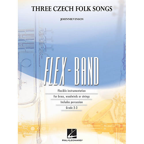 Hal Leonard Three Czech Folk Songs Concert Band Level 2-3 Composed by Johnnie Vinson thumbnail