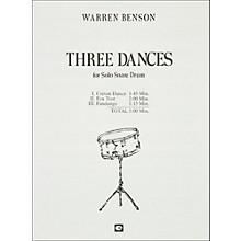 Hal Leonard Three Dances for Solo Snare Drum