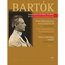 Editio Musica Budapest Three Hungarian Folksongs from the County of Csik EMB Series by Béla Bartók