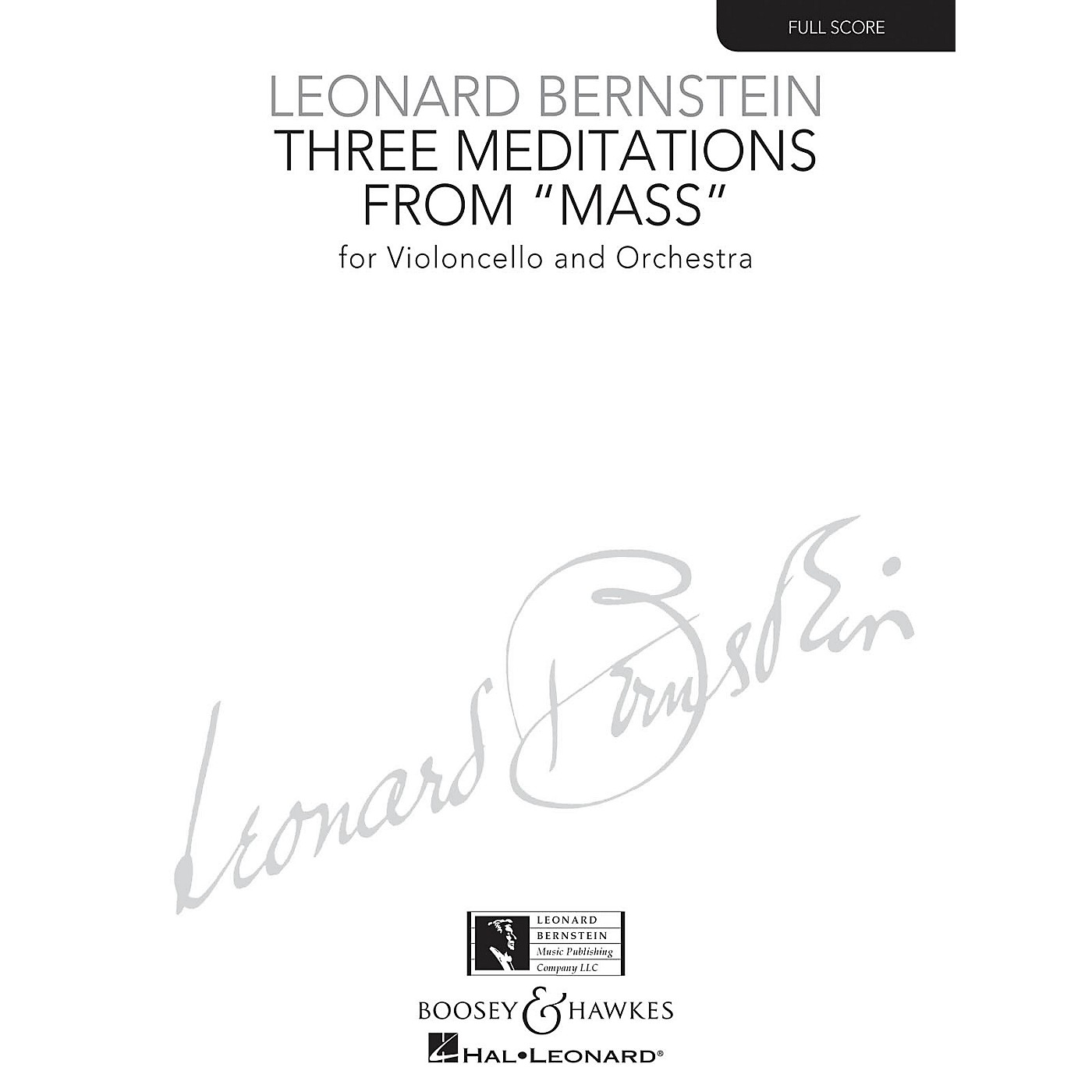 Boosey and Hawkes Three Meditations from Mass Boosey & Hawkes Scores/Books Series Composed by Leonard Bernstein thumbnail