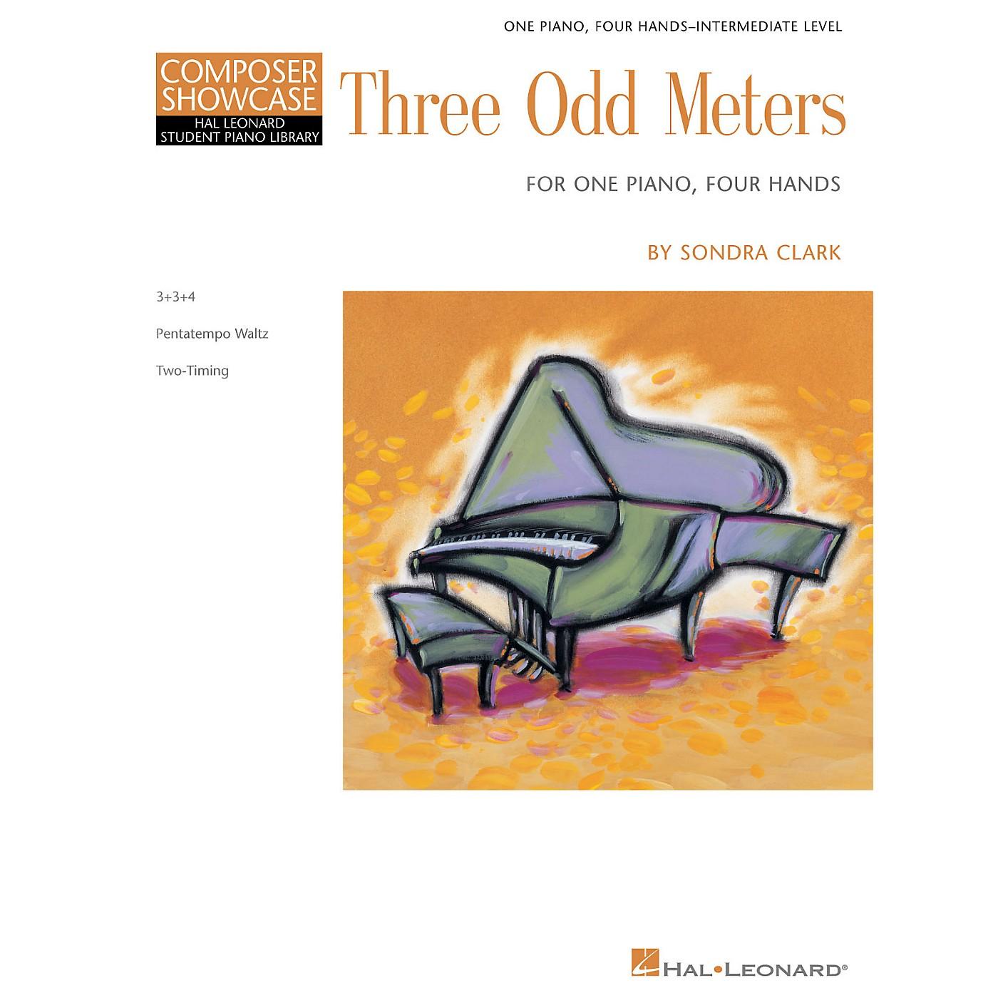 Hal Leonard Three Odd Meters Piano Library Series Book by Sondra Clark (Level Inter) thumbnail