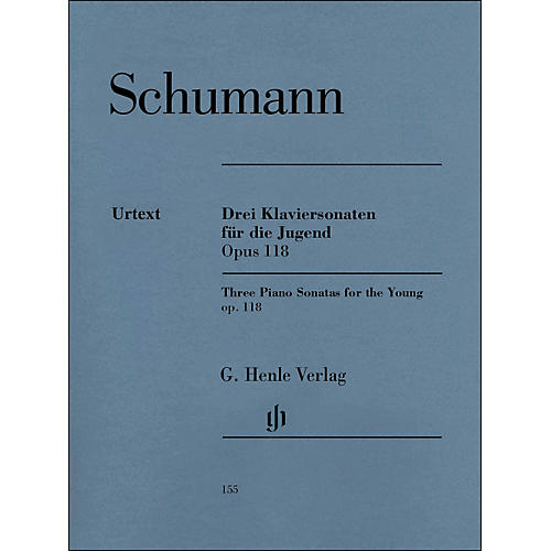 G. Henle Verlag Three Piano Sonatas for The Young Op. 118 By Schumann / Herttrich thumbnail