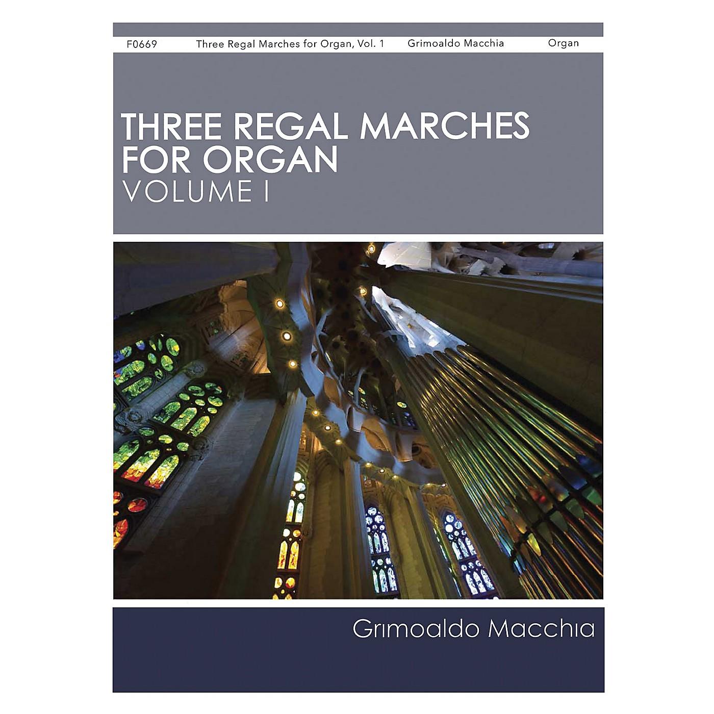 H.T. FitzSimons Company Three Regal Marches for Organ, Vol. 1 composed by Grimoaldo Macchia thumbnail