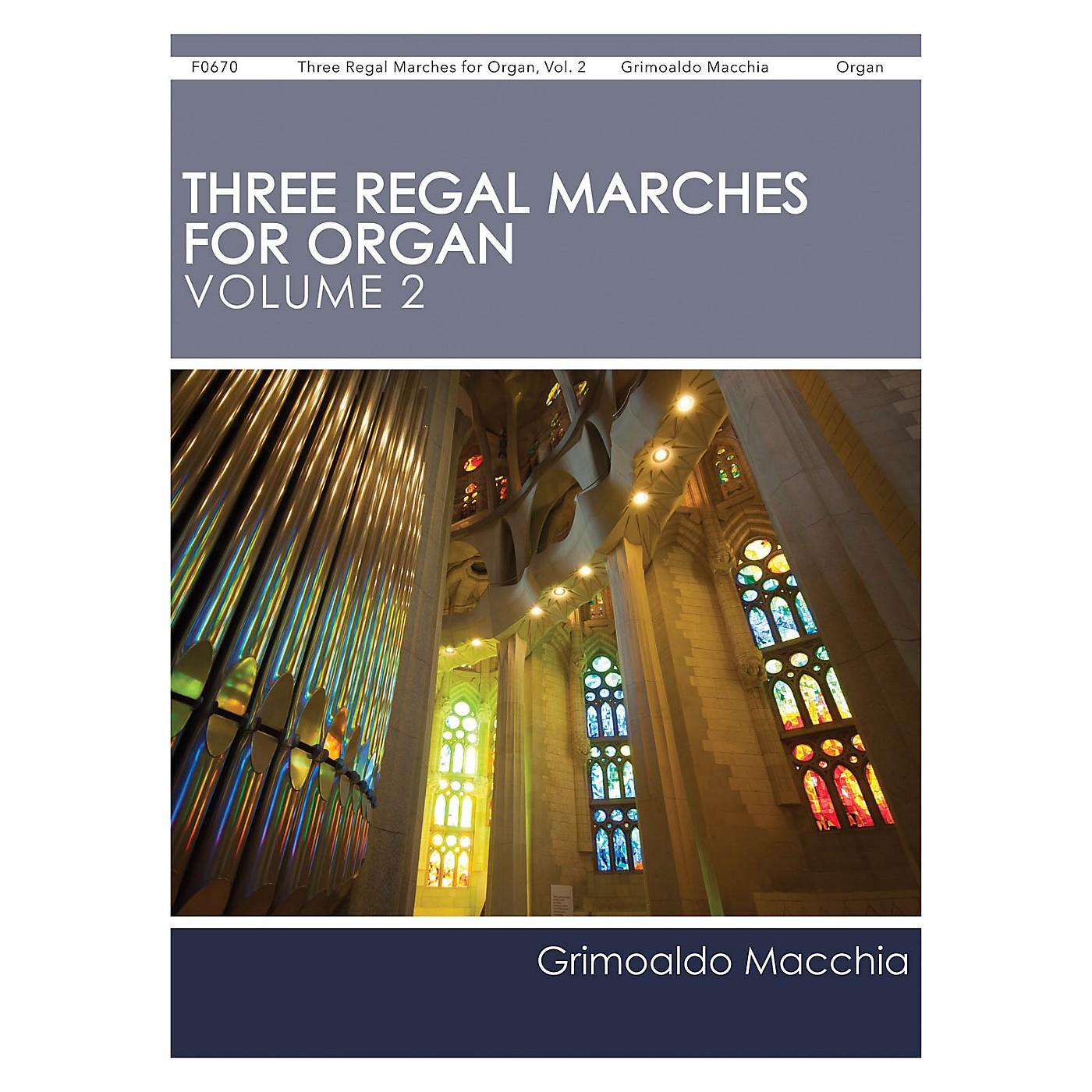 H.T. FitzSimons Company Three Regal Marches for Organ, Vol. 2 thumbnail