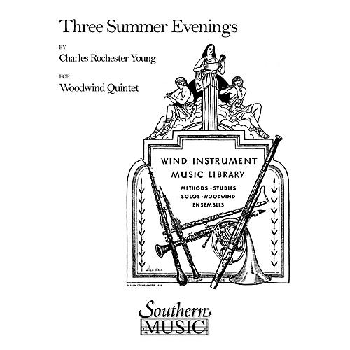 Southern Three Summer Evenings (Woodwind Quintet) Southern Music Series by Charles Rochester Young thumbnail