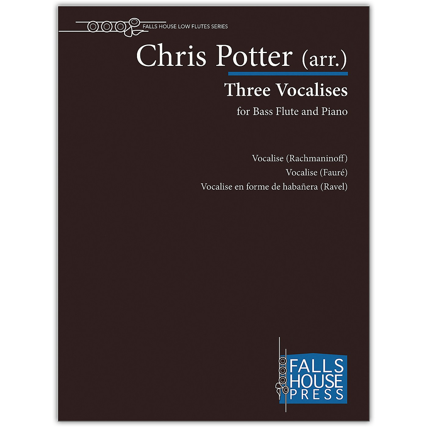 Carl Fischer Three Vocalises-Bass Fl & Pno thumbnail