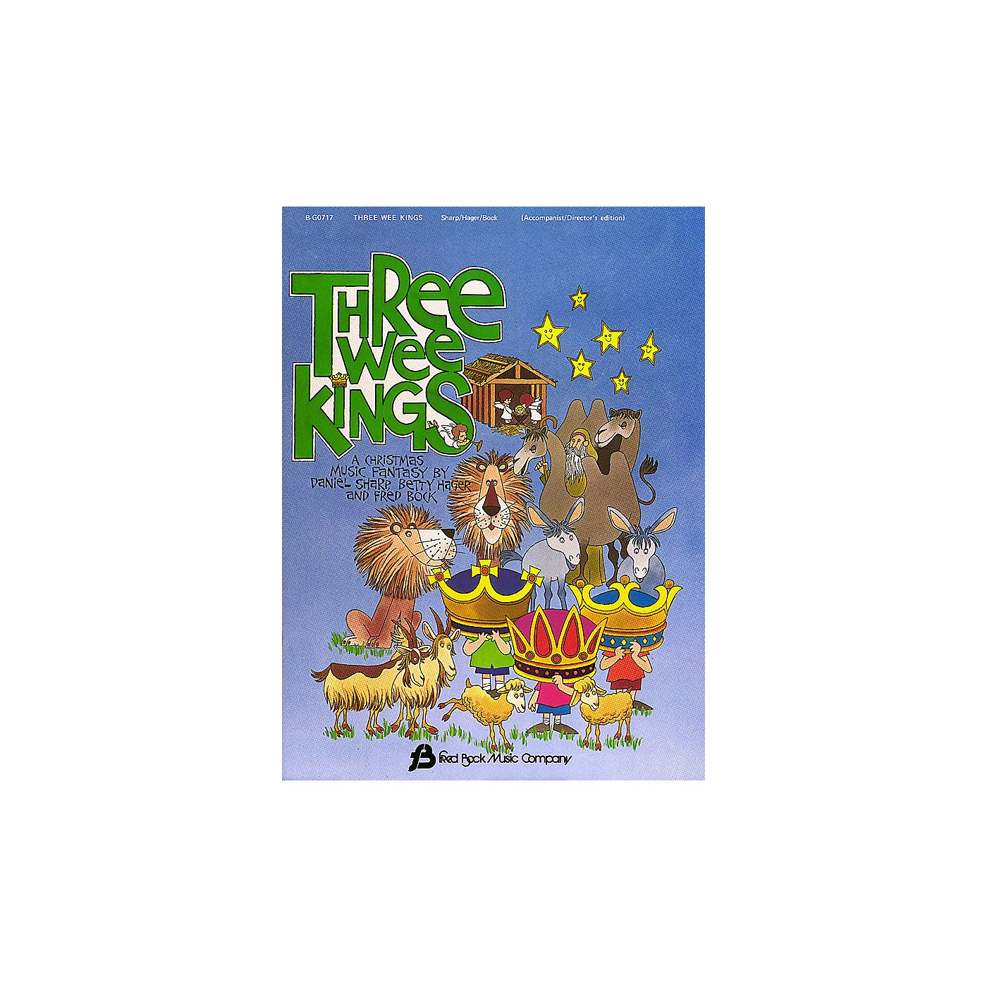Fred Bock Music Three Wee Kings (Director's Edition) shows all parts composed by Daniel Sharp thumbnail