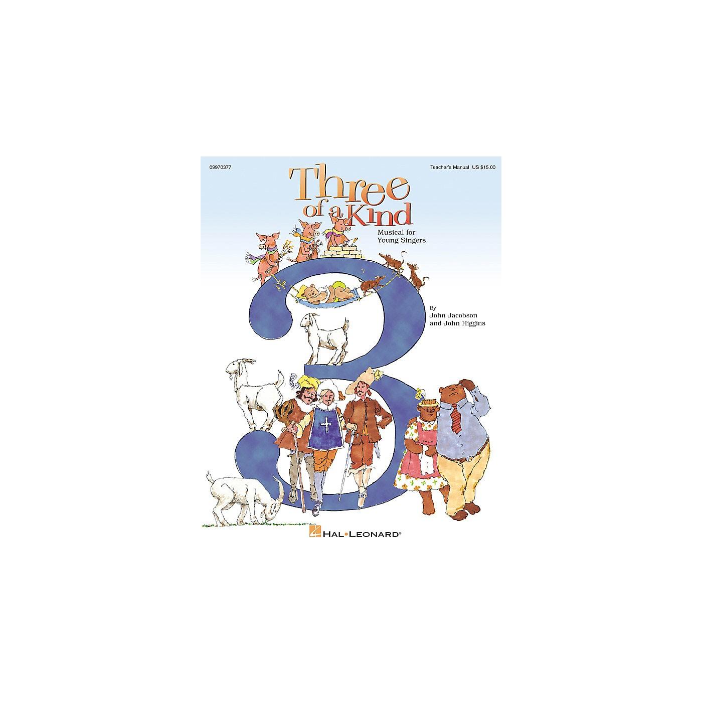 Hal Leonard Three of a Kind (Musical) (Teacher Edition) TEACHER ED Composed by John Higgins thumbnail