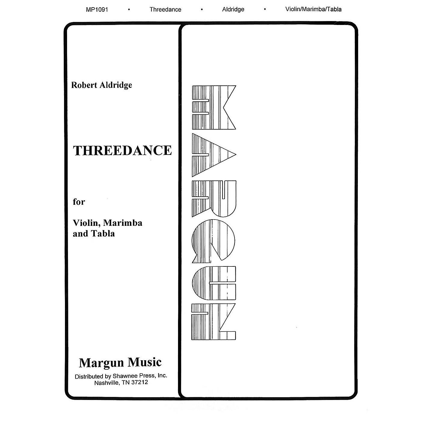 Margun Music Threedance Shawnee Press Series by Robert Aldridge thumbnail