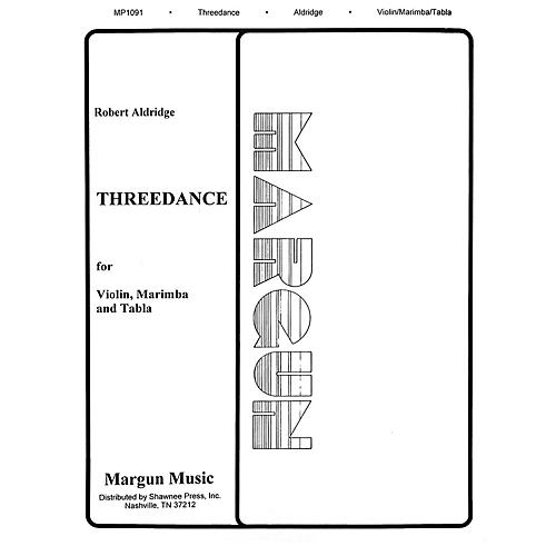Margun Music Threedance Shawnee Press Series by Robert Aldridge thumbnail